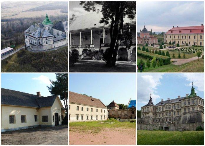 Шість загальновідомих й втрачених замків Собеських на Львівщині