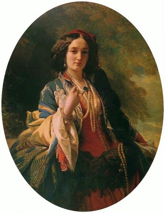 Катажина Потоцька, 1854 р., автор Франц Ксавєр Вінтерхальтер