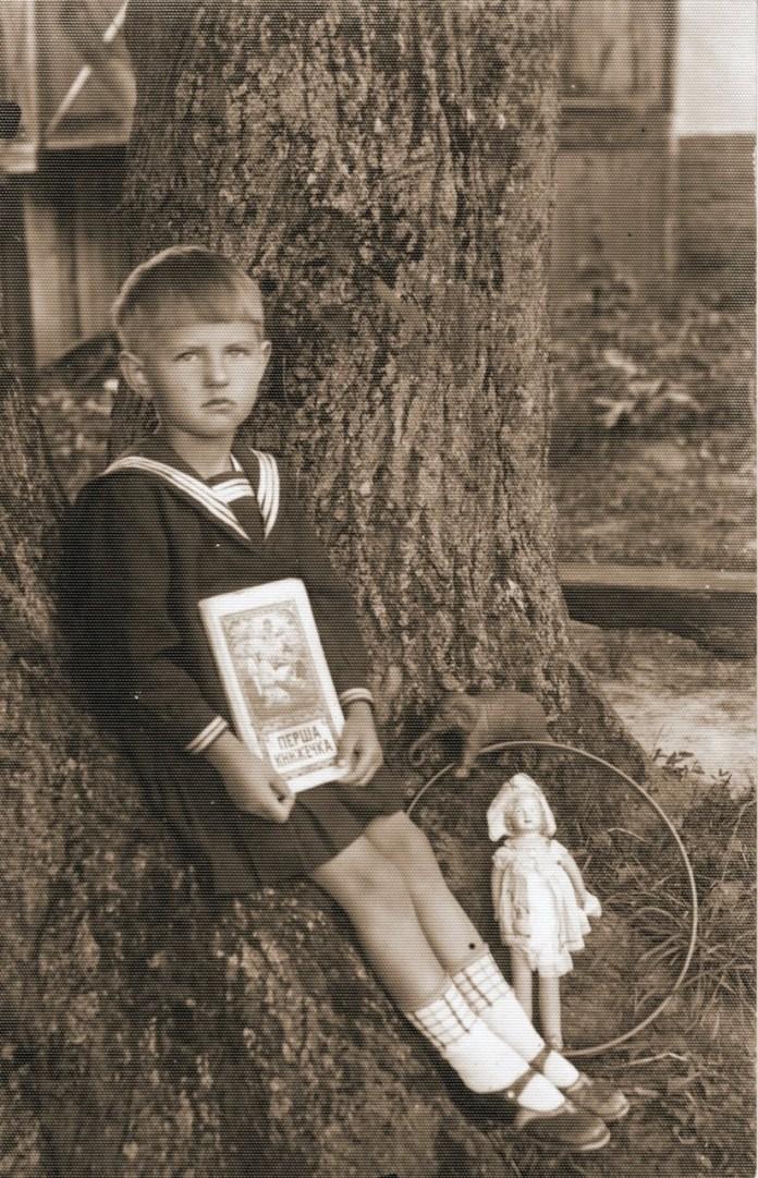 Віра Міщук, дочка священика, 1936 р.
