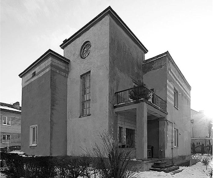 Будинок Кубашевського в Луцьку. Архітектор Сергій Тимошенко, 1934. Фото Олександра Котиса