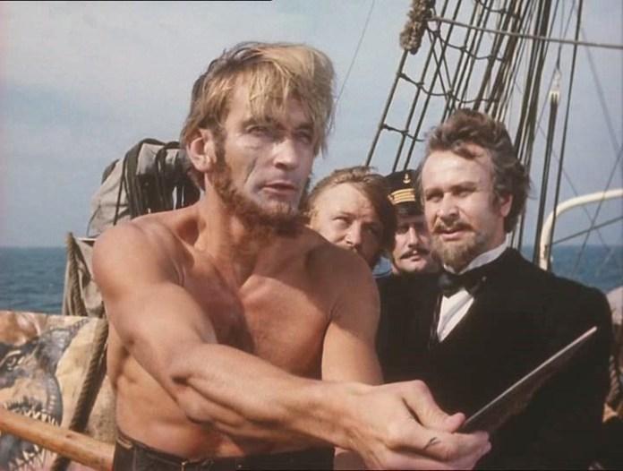 Володимир Талашко у фільмі «Капітан Немо» (1975).