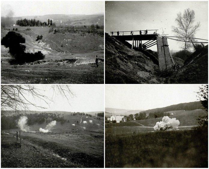Село Ушковичі на столітніх фото