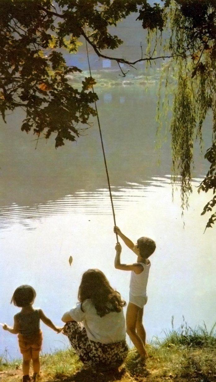 Малі рибалки. 1980-ті роки
