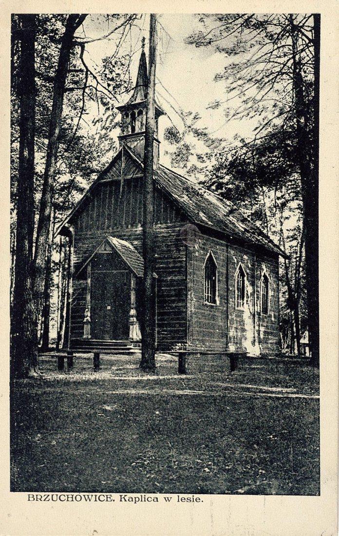 Брюховичі. Каплиця в лісі, 1933 р.