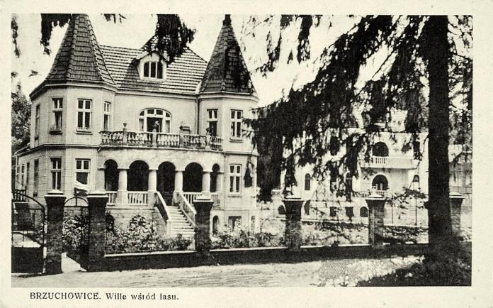 Брюховичі. Вілла посеред ставу, 1932 р.