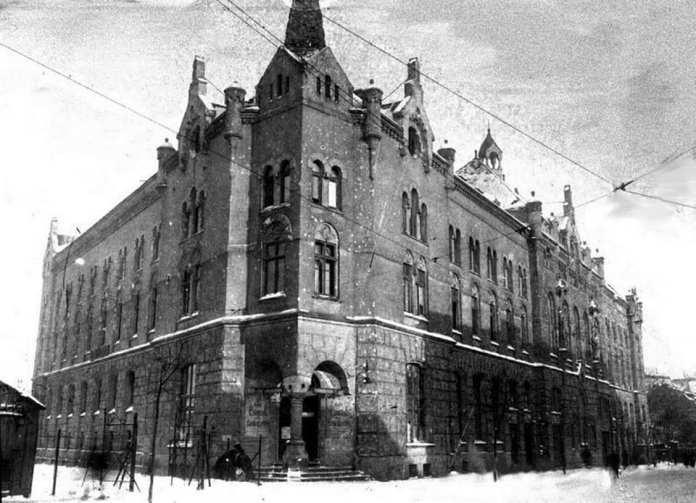 Будівля Католицького дому (фото до 1914р.)