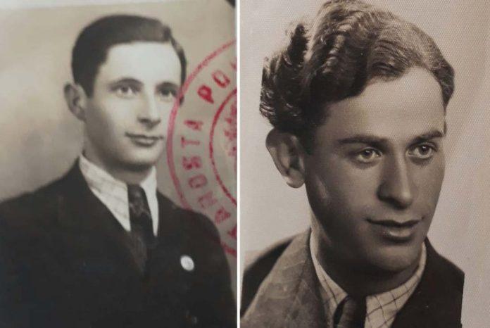 Ліворуч Меєр Ліберман, праворуч Міхель Ліхтенштейн