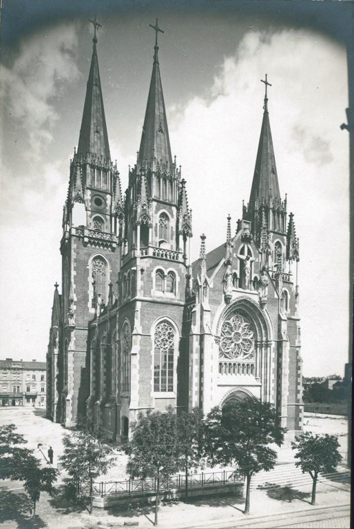 Костел Святої Ельжбети, 1912 р.