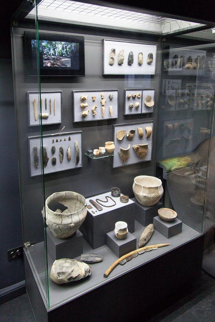 Оновлена експозиція археологія Західного регіону в Історико-краєзнавчому музеї у Винниках