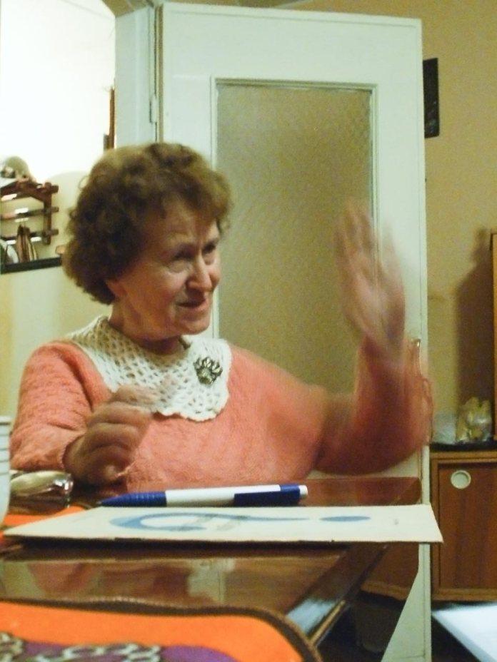 80-річний ювілей Любомири Яросевич. Львів, листопад 2004 р.