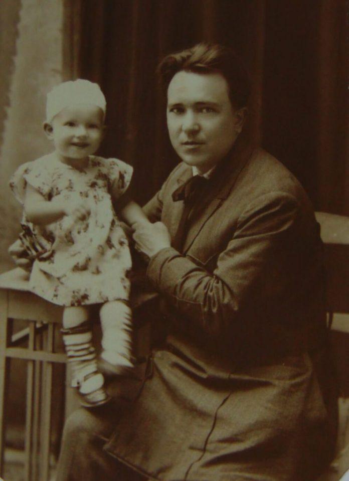 Георгій Косміаді з донечкою Надією