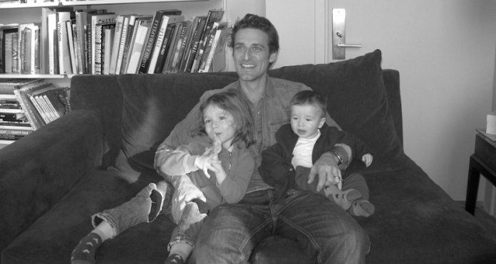 Алексі Любомирський – правнук останнього рівненського князя – з синами Соле Лука та Леоне