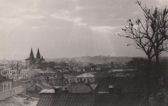 Костел було видно з будь якої точки міста