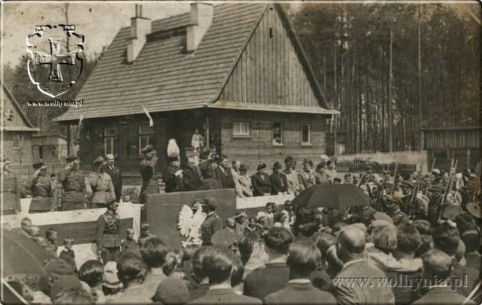 Свято до дня польської Конституції, парад стрільців