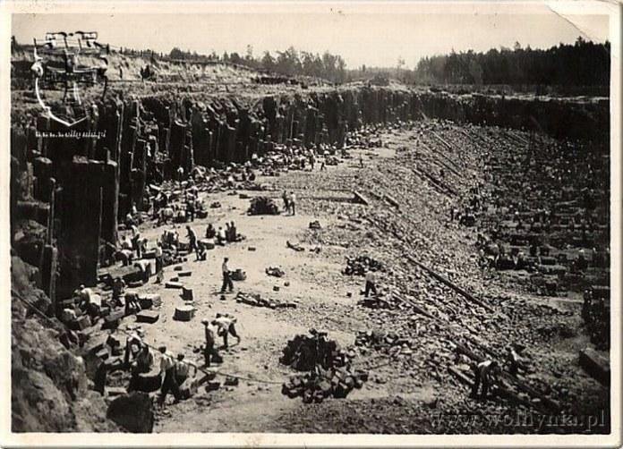 Вид на копальню в Яновій Долині