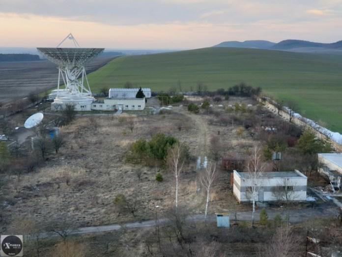 Територія центру космічних досліджень, с.Сасів