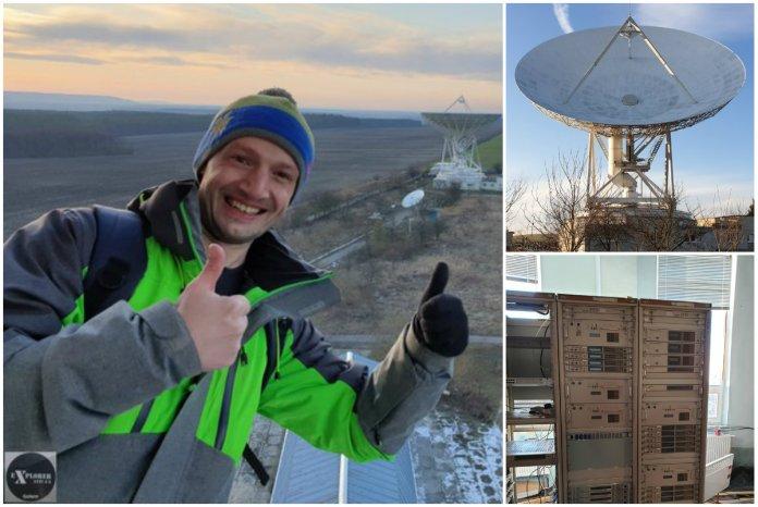 Фото зсередини Центру Космічних Досліджень, або кудою йшов зв'язок Москва-Вашингтон