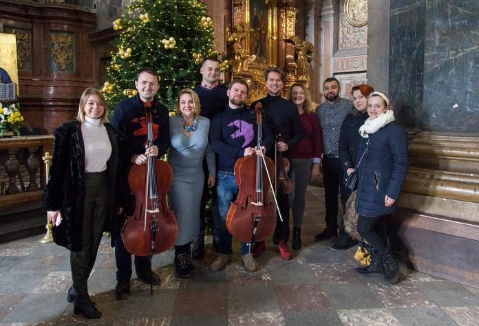 Соломія Чубай запрошує на різдвяний дивоконцерт