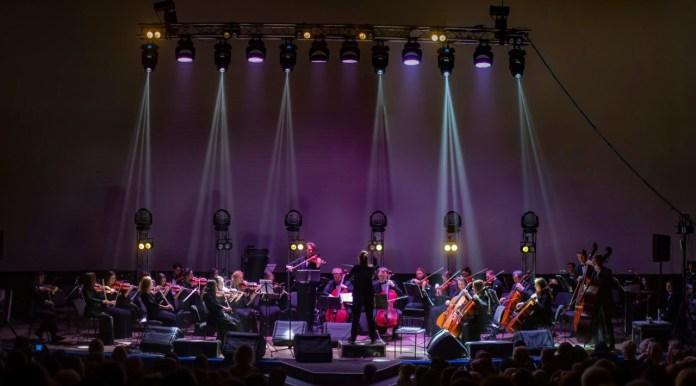 Феєрична концертна програму «По Різдву». Фото Олександра Шамова.