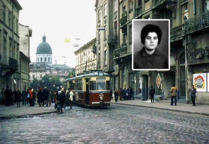 Трамвай Gotha під номером 472, який спричинив ДТП. Фото Ханс Орлеманс. І фото водійки трамвая Надії Макари.
