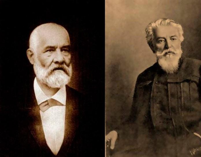 Дмитро Cтруков (ліворуч), Олександр Беггров (праворуч)
