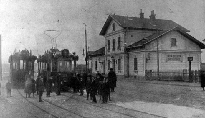 Станція Личаків. 1914 р.