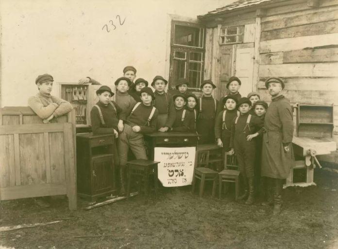 Сарни, дитячий будинок для єврейських сиріт, 1920 рік
