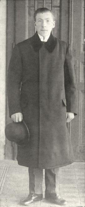Батько - Йосиф Звіринський близько 1916 р.