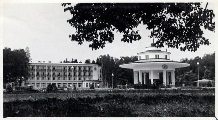Комплекс для відпочиваючих в Моршині, 1936 р. Фото: Софія Хоментовська