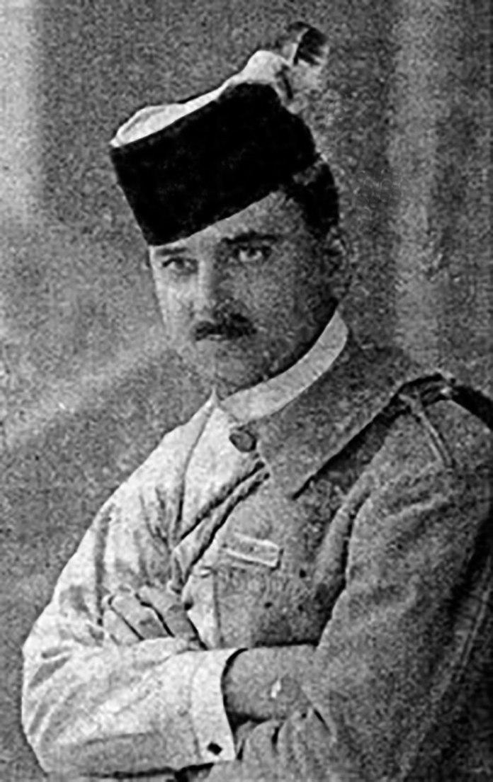 Ярослав Ярославенко в однострої ''Сокола'', 1914 р.