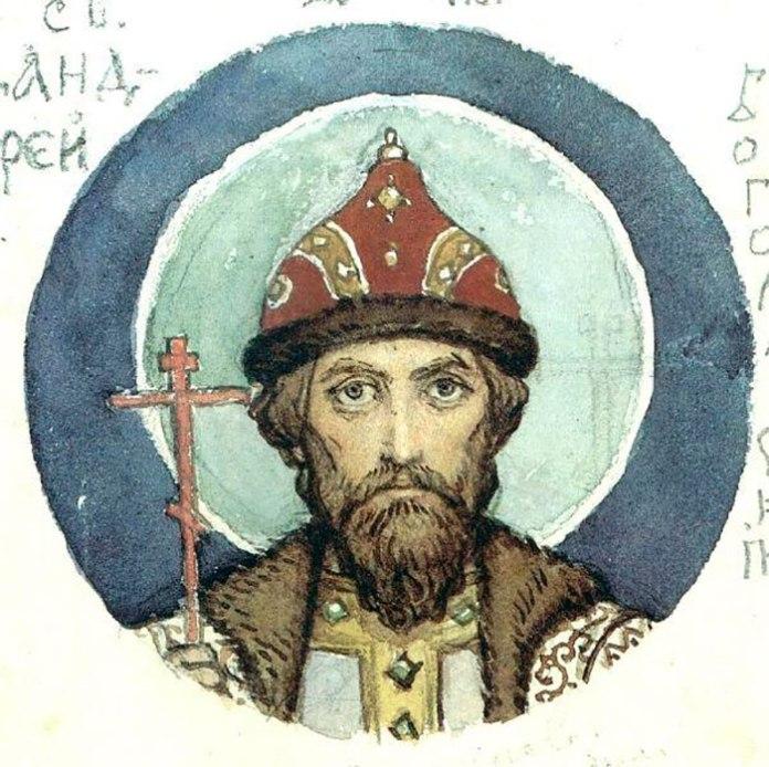 Таким уявляв суздальського князя Андрія Боголюбського російський художник Васнецов