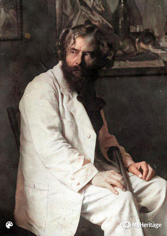 Олекса Новаківський (колоризоване фото)