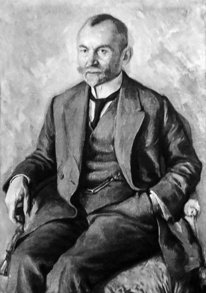 Володимир Козакевич. Автопортрет, початок ХХ ст. (репродукція)