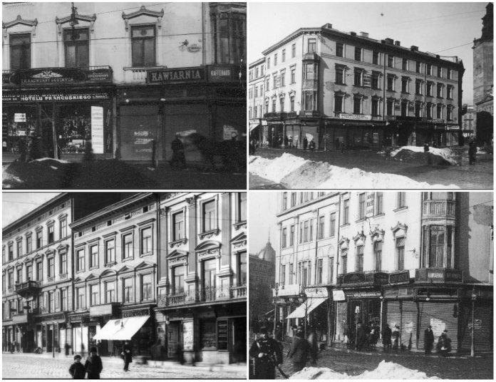Марійська Площа 100 років тому