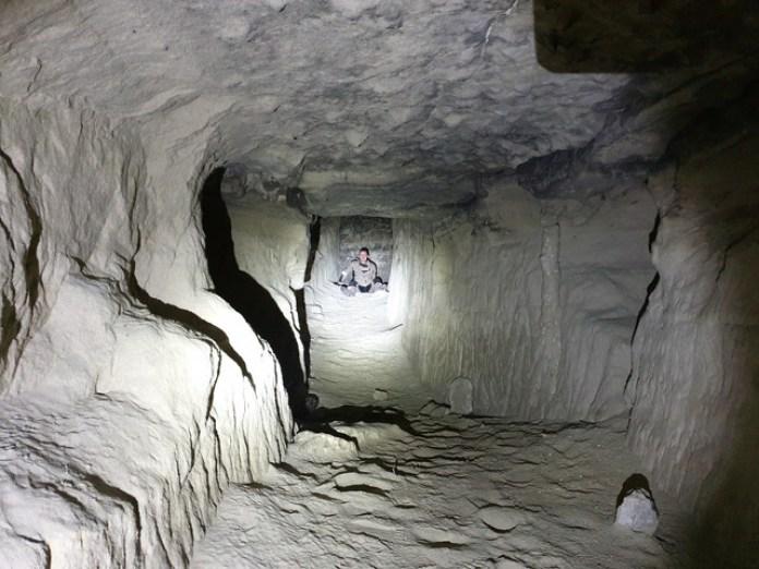 Ось і весь тунель. За спиною фотографа вже вихід назовні