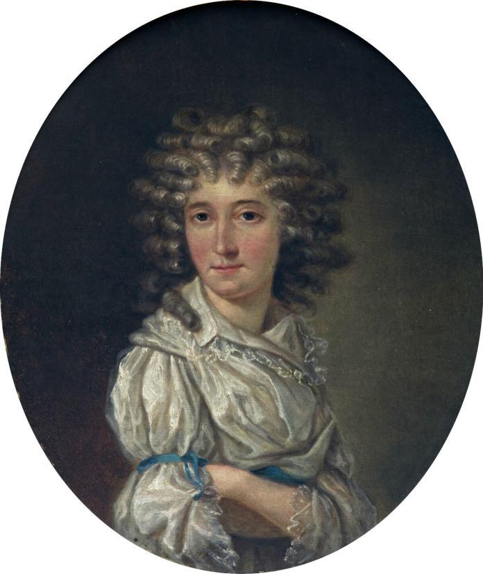 Людвика Сосновська. Портрет 1775 року