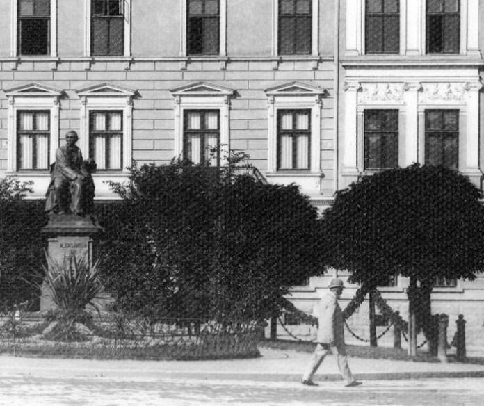 Пам'ятник Александру Фредро, поч. ХХ ст.