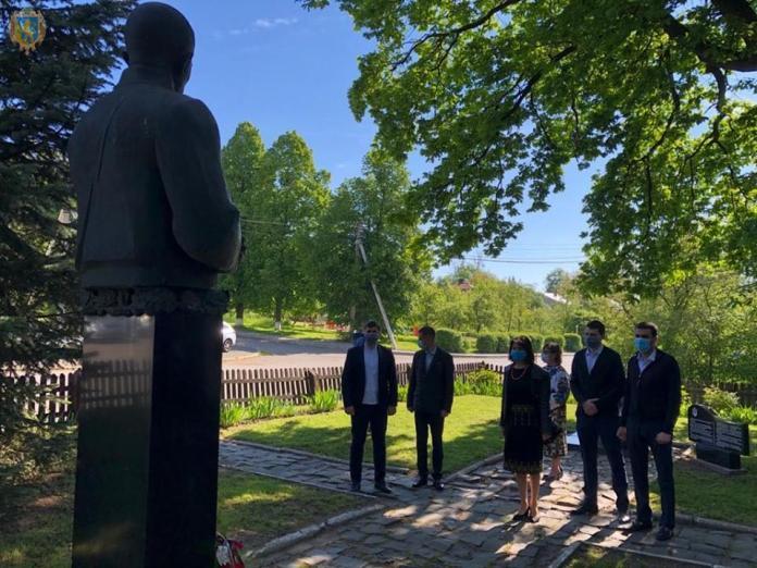 Вшанування пам'яті Євгена Коновальця у Зашкові