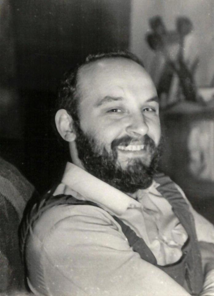 Петро Старух у майстерні Еммануїла Миська, 1980-і рр.