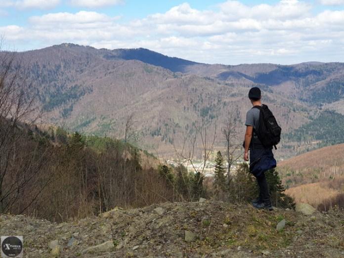 Сколе і гора Корчанка