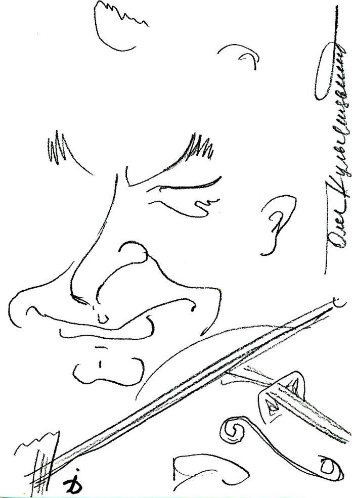 Олег Кульчицький - скрипаль-віртуоз.