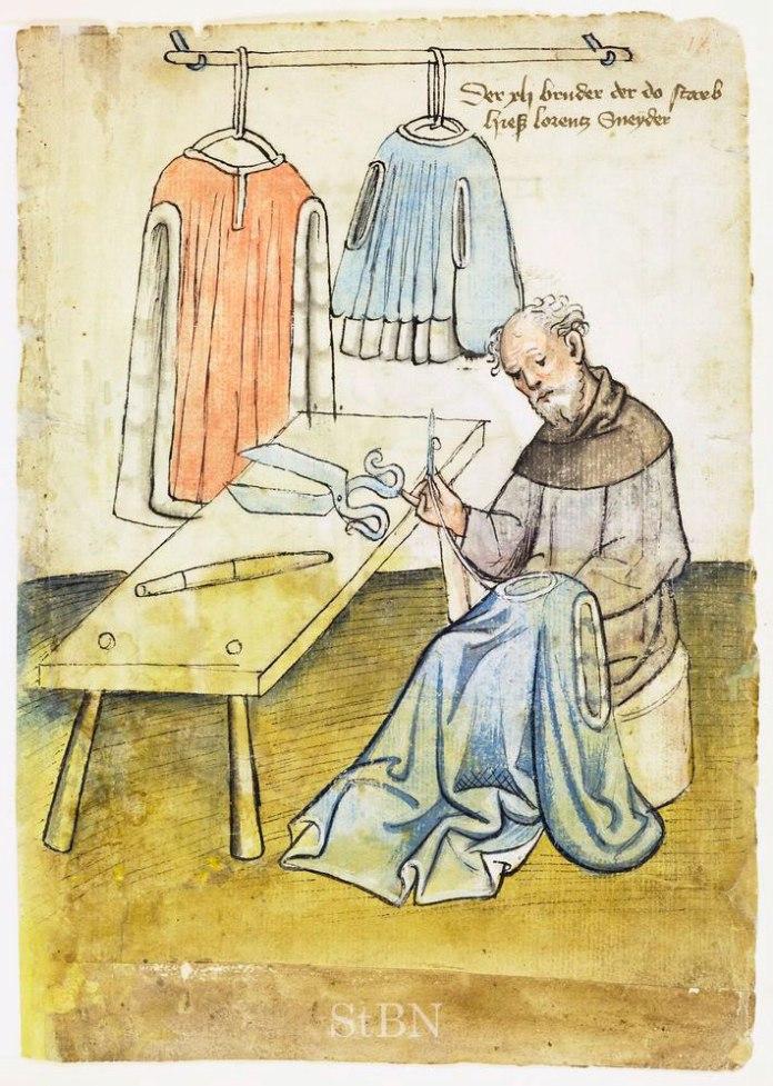 Кравець, XV століття, Hausbuch der Mendelschen Zwölfbrüderstiftung, Band 1. Nürnberg 1426–1549. Stadtbibliothek Nürnberg