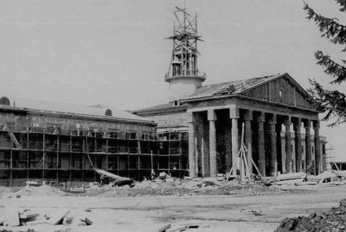 Термінал 1 львівського аеропорту в процесі будівництва (Фото Tanya Alexeytseva)