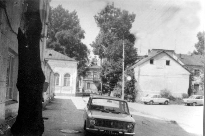 Вулиця Шкільна 1970-і роки