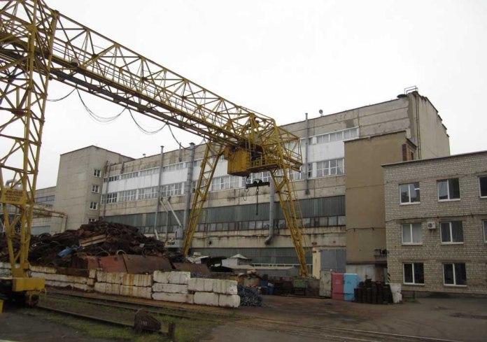 Територія Львівського локомотиворемонтного заводу. 2017 р.