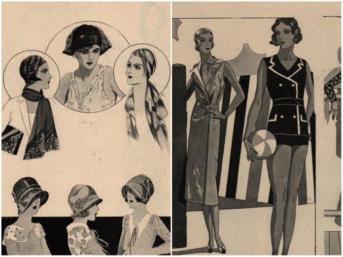 Модні фасони літа 1930 року