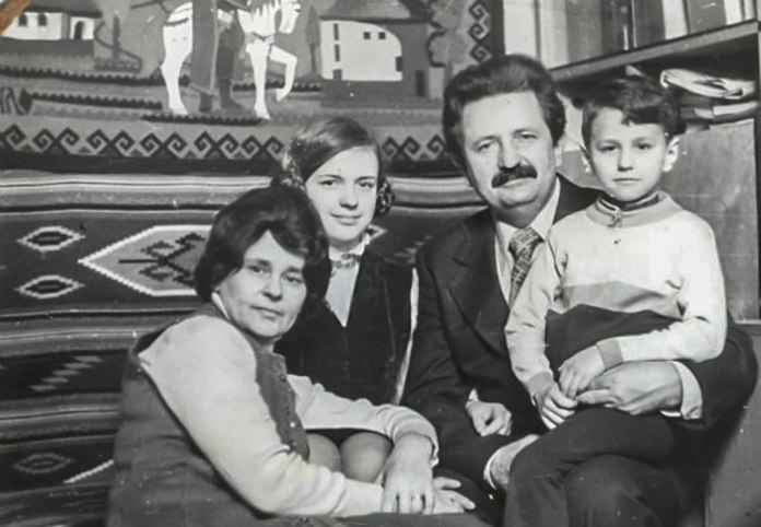 Родина Михайла Гориня, 1970 – ті роки. Фото з ресурсу www.istpravda.com.ua