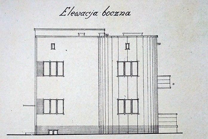 Проект будинку для Стефана Дуткевича в Луцьку, 1938