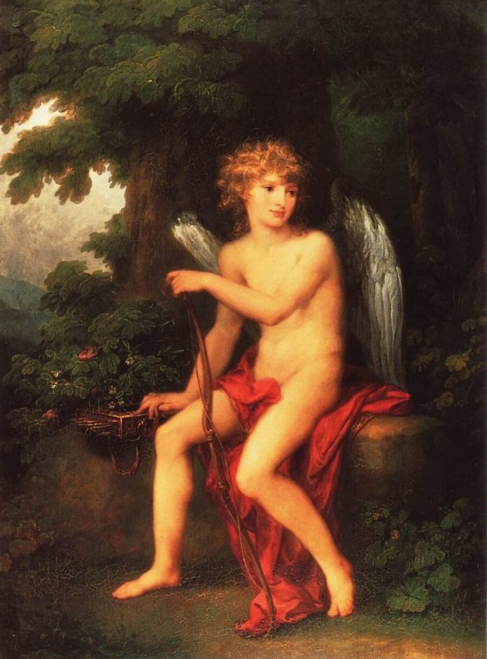 """Генрик в образі Купідона"", Ангеліка Кауффманн, 1786 рік"