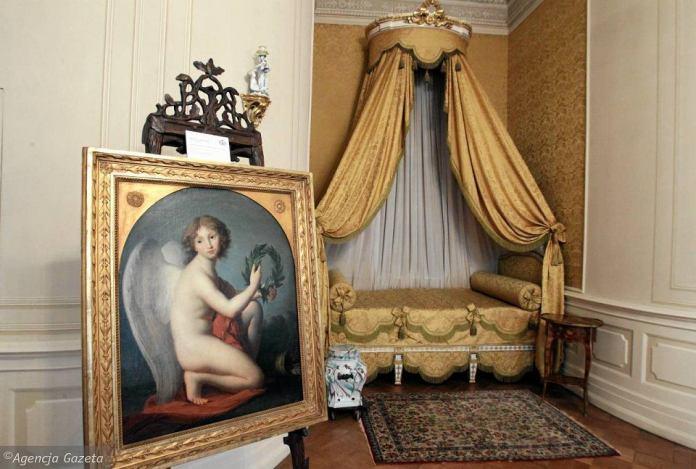 Спальня княгині Ізабелли. Там же портрет юного Генрика. Палац-музей в Ланьцуті. Сучасне фото
